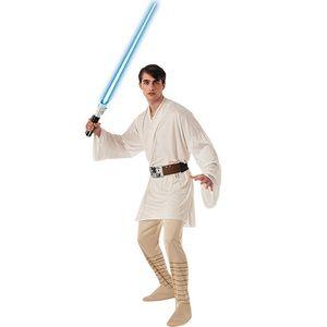 Star Wars Luke Skywalker Costume w/ Lightsaber